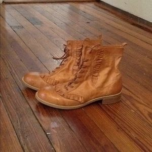 Miss Albright anthropologie ankle boot size 6
